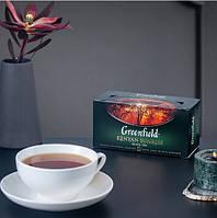Чай Greenfield Kenyan Sunrise - Чорний байховий, пакетований 25 шт, фото 1
