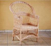 Кресло. Плетеная мебель из лозы.