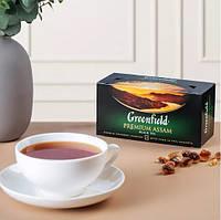 Чай черный Greenfield Premium Assam - Черный байховый, пакетированный 25 шт, фото 1