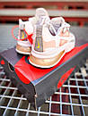 Кроссовки женские Nike 270 React White Light Pink Grey, фото 9