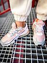 Кроссовки женские Nike 270 React White Light Pink Grey, фото 6
