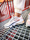 Кроссовки женские Nike 270 React White Light Pink Grey, фото 2