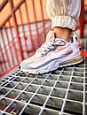Кроссовки женские Nike 270 React White Light Pink Grey, фото 7