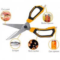 Ножиці кухонні 225 мм INGCO HSCRS822251
