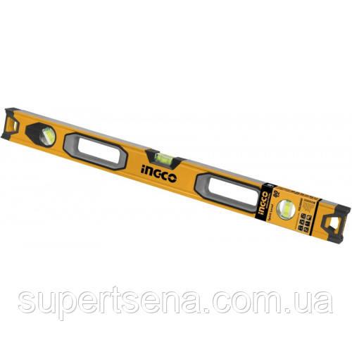 Будівельний алюмінієвий рівень 80 см INGCO HSL08080 INDUSTRIAL