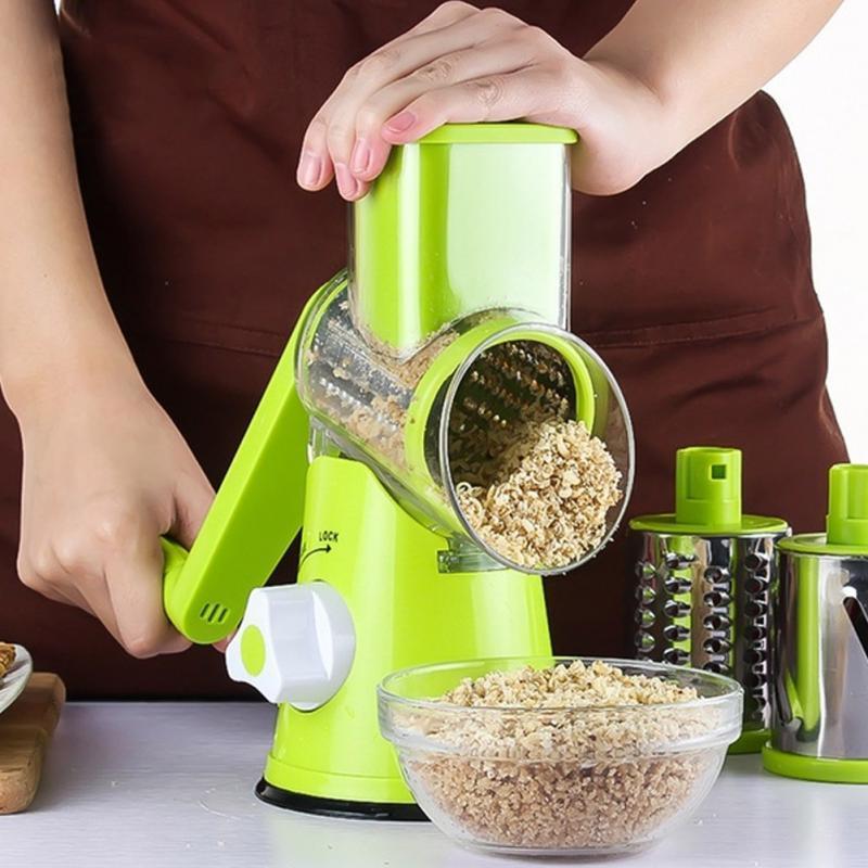 Терка - Овочерізка - Мультіслайсер для овочів і фруктів Kitchen Master (GIPS), нашаткувати овочі, овочерізка у