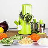 Терка - Овочерізка - Мультіслайсер для овочів і фруктів Kitchen Master (GIPS), нашаткувати овочі, овочерізка у, фото 8