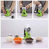 Терка - Овочерізка - Мультіслайсер для овочів і фруктів Kitchen Master (GIPS), нашаткувати овочі, овочерізка у, фото 9
