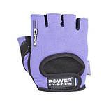 Перчатки для фитнеса и тяжелой атлетики Power System Pro Grip PS-2250 XS Purple, фото 3