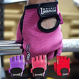 Перчатки для фитнеса и тяжелой атлетики Power System Pro Grip PS-2250 XS Purple, фото 6
