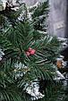 Штучна Ялинка Елітна шишка + калинка, фото 3