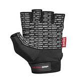 Перчатки для фитнеса и тяжелой атлетики Power System Ultra Grip PS-2400 XL Black, фото 3