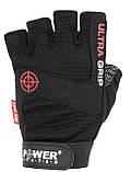 Перчатки для фитнеса и тяжелой атлетики Power System Ultra Grip PS-2400 XL Black, фото 4