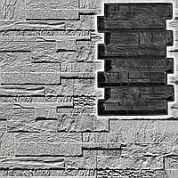 """Резиновая форма """"Афины"""" для гипсовой или бетонной плитки под декоративный камень, фото 1"""