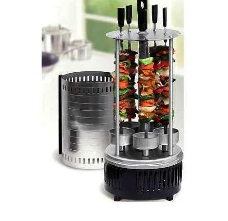 Электрошашлычница  на 6 шампуров шашлычница 1000W, электромангал, мангал, шашлык дома, Все для кухни