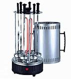 Электрошашлычница  на 6 шампуров шашлычница 1000W, электромангал, мангал, шашлык дома, Все для кухни, фото 2