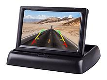 """Автомобильный Монитор Складной для камеры заднего вида 4,3"""" JL403ST Лучшая Цена!, Автотовары,"""