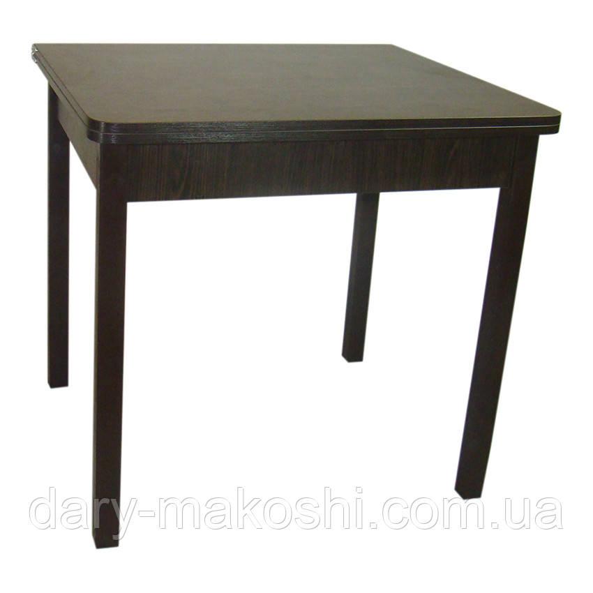 Стол обеденный раскладной Тавол Гранди 70 см х 80 см х 75 см ноги прямое дерево Венге
