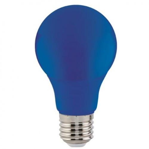 "Синяя светодиодная лампа 3W E27 ""Spectra"" Horoz Electric"
