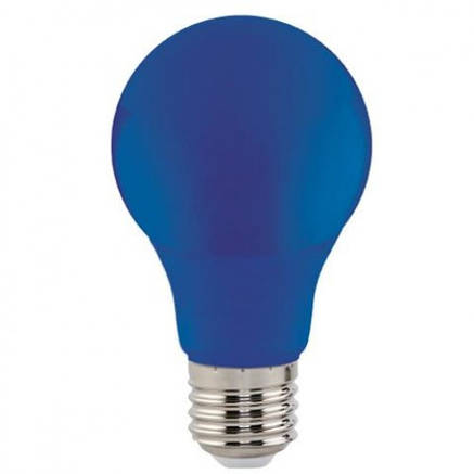 """Синяя светодиодная лампа 3W E27 """"Spectra"""" Horoz Electric, фото 2"""