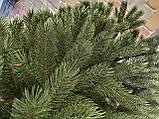 """Елка  искусственная литая """"Буковская"""", пышная густая, 210 см, с подставкой, в коробке, зеленая, фото 4"""
