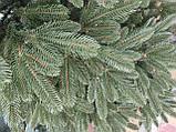 """Елка """"Премиум""""  искусственная литая зеленая, пышная густая, 210 см, с подставкой, в коробке, фото 4"""