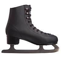 Ковзани для фігурного катання PVC (р-р 41-44, чорний)