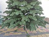 """Елка """"Элитная""""  искусственная литая зеленая, пышная густая, 230 см, с подставкой, в коробке, фото 3"""