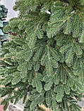 """Елка """"Элитная""""  искусственная литая зеленая, пышная густая, 230 см, с подставкой, в коробке, фото 6"""