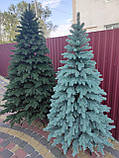 """Елка """"Элитная""""  искусственная литая зеленая, пышная густая, 230 см, с подставкой, в коробке, фото 7"""
