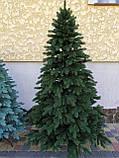 """Елка """"Элитная""""  искусственная литая зеленая, пышная густая, 230 см, с подставкой, в коробке, фото 8"""