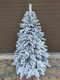 """Елка  искусственная литая """"Элитная"""" пышная густая, 210 см, с подставкой, в коробке,  в снегу"""
