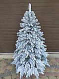 """Елка  искусственная литая """"Элитная"""" пышная густая, 230 см, с подставкой, в коробке,  в снегу, фото 2"""