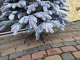 """Елка  искусственная литая """"Элитная"""" пышная густая, 230 см, с подставкой, в коробке,  в снегу, фото 3"""