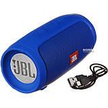 Портативная блютуз колонка JBL Charge 3 MINI колонка с USB,SD,FM СИНЯЯ, Колонки и акустические системы, фото 2
