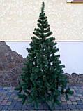 """Елка, ель искусственная зеленая """"Карпатская"""", на Новый год, с подставкой, 200 см, фото 6"""
