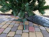 """Елка, ель искусственная зеленая """"Карпатская"""", на Новый год, с подставкой, 200 см, фото 7"""