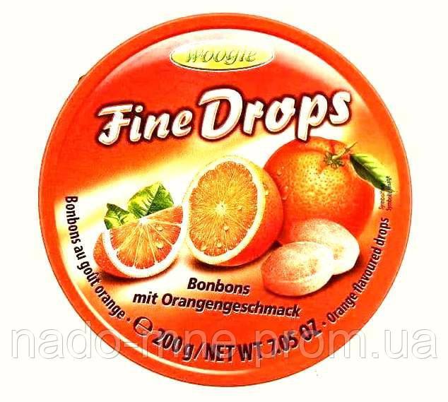 Леденцы Fine Drops 200 гр. Апельсин