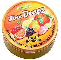 Леденцы Fine Drops 200 гр. Фруктовый микс, фото 1