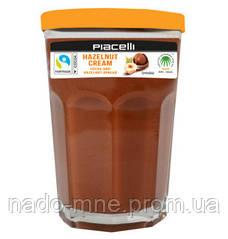 Шоколадная паста Piacelli Hazelnut Cream, 350 г., Австрия, банка стекло (граненный стакан)