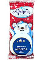 """Шоколад молочный с арахисом Alpinella """"Рождество"""" Польша, 90 г."""