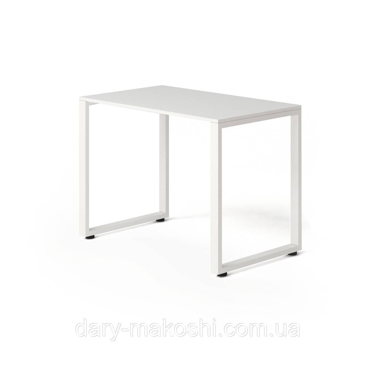 Стол Тавол КС 8.1 металл опоры 100смх60смх75см ДСП Белый