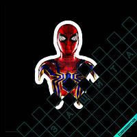 Термонаклейки на одежду Человек-Паук [Свой размер и материалы в ассортименте]