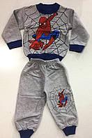 """Детский утепленный костюм двойка  """"Человек паук"""""""