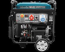 Генератор бензиновый Könner&Söhnen KS 15-1E 1/3 ATSR (11,5/15,6 кВт, 1/3ф, АВР)