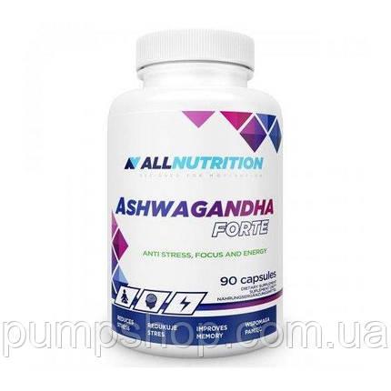 Экстракт корня ашвагандха AllNutrition Ashwagandha Forte 800 мг 90 капс., фото 2