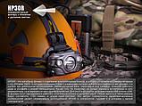 Ліхтар налобний Fenix HP30R чорний, фото 8