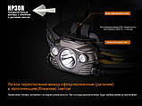 Ліхтар налобний Fenix HP30R чорний, фото 10