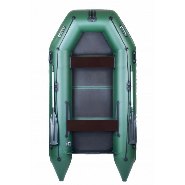 Надувная лодка Ладья ЛТ-290МВЕ со сланью-книжкой и передвижным сиденьем