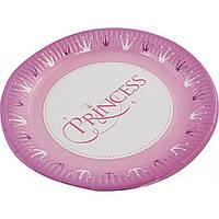 Тарелка бумажная детская большая d220мм (10)